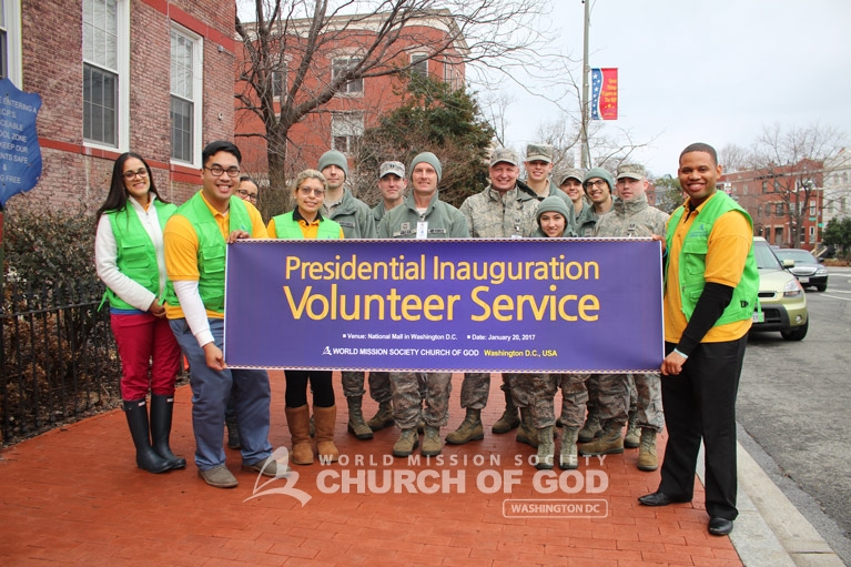 2017 Presidential Inauguration Volunteer Service